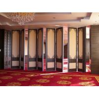 Wholesale MDF + Aluminum Interior Movable Folding Soundproof Partition Wall For Hotel from china suppliers