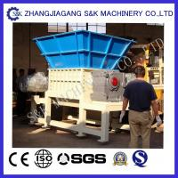 Wholesale Low Speed Double shaft Plastic shredding equipment  For Rubber from china suppliers