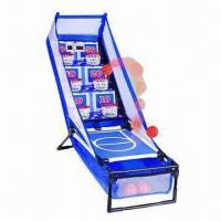 Wholesale Plastic Mini Multi-frame Basketball Shooting Finger Board Game, EN71 Mark from china suppliers