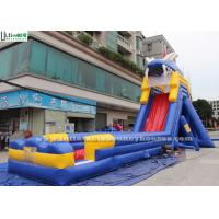 Wholesale Giant Hippo Commercial Inflatable Water Slides With Pool For Water Park Equipments from china suppliers