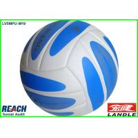 Wholesale Blue White Beach Volleyball Official Ball / Custom Printed Size 5 Sand Volleyball Ball from china suppliers