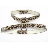 Wholesale Leopard PU dog harness yellow and pink 2 colors 2 sizes 30 pcs/lot from china suppliers