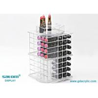 Wholesale Free Personalized Logo Spinning Acrylic Lipstick Tower Exquisite Package from china suppliers