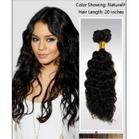 Wholesale Elegant 25 Inch / 26 Inch Curly Human Hair Wigs / brazilian curly hair extensions from china suppliers