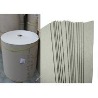 Buy cheap 370g / 0.57 mm Grade AA laminated Grey Card board roll for printing from wholesalers