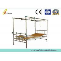 Wholesale Stainless Steel 3 Crank Double Arm Manual Hospital Orthopedic Adjustable Beds (ALS-TB02) from china suppliers