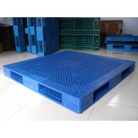 Wholesale Single Side Export Plastic Pallets With Steel Tubes Inside , 1000×1000×150 from china suppliers