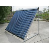 Wholesale Thermosiphon Copper Coil Heat Pipe Solar Collector Free Standing / Wall Mounting Installation from china suppliers