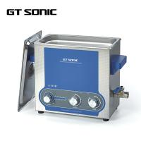 China Parts Manual Ultrasonic Cleaner Mechanical Control Timer / Heater 40kHz on sale