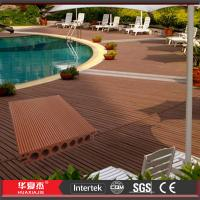 Wholesale Brushed / Embossed WPC Composite Wood Decking 140 * 25mm Waterproof For Yard from china suppliers
