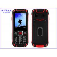 Wholesale GSM Quad Band Military Waterproof Rugged Cell Phone With Walkie Talkie from china suppliers