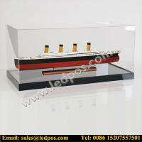 Quality Acrylic Model Display Case for sale