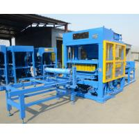 China Color Customized QT8-15 Fully Automatic Hydraulic Interlocking Block Making Machine for sale on sale