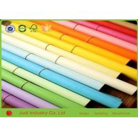 Wholesale Creative Hobbies Rainbow Solid Color Wrapping Paper , 21 Gsm Holiday Wrapping Paper from china suppliers