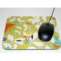 Wholesale Non skid Natural Rubber Mouse Pad, Fabric Custom Printed Mouse Mats from china suppliers