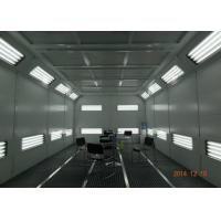 Coated Panel Car Spray Booth Air Flow Electric Controlled With Heat Recovery System