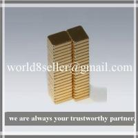 Buy cheap 5X4X1 NdFeB Block Magnet from wholesalers