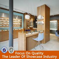 Wholesale Rotating Wooden Glass Eyewear Showcase from china suppliers