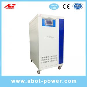 Wholesale ABOT Large Capacity Three Phase Servo Motor Controlled Voltage Stabilizer Regulator SBW from china suppliers