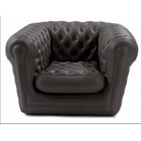 Quality Comfortable PVC Inflatable Sofa Chair Sofa For Temporary Seating for sale