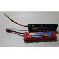 Wholesale High Power Discharge Typ 8.4V 1600 mAh  Airsoft Gun Battery / Rechargeable NIMH AA Batteries from china suppliers