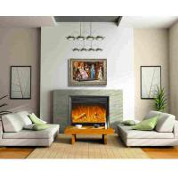 Wholesale Home Bedroom Decoration Plug In Wall Fireplace Heater With Remote / Led Light from china suppliers