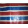 Buy cheap color strip polyethylene tarps from wholesalers