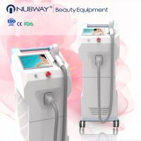 Wholesale Hottest painless hair removal 808nm diode laser equipment epilation, wrinkle removal 808nm diode laser machine from china suppliers