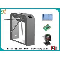 Wholesale RFID Barcode Reader Turnstile Security Systems , Tripod Turnstile Gate from china suppliers