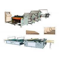 Wholesale Single Face Corrugated Carton Box Making Machine Low Electric Consumption from china suppliers