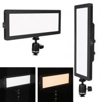 Wholesale Bicolor Edge Soft LED Video Lights Aluminum Solid Stable LED Video Lighting Kits from china suppliers