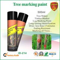 Wholesale Fast Drying Colorful Marking Spray Paint For Log / Plywood / Railroad Ties from china suppliers