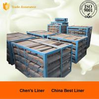 Wholesale High Mn Steel Cast Mill Lining System JIS G 5153-1999 / ASTM DF060 Impact Value > 118J from china suppliers