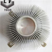 Wholesale OEM / ODM Aluminum Heat Sinks Anodizing Surface Treatment For LED Light from china suppliers