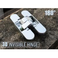 Wholesale 110X24X29/25 mm Zinc Alloy 180 Degree Opening Concealed Hinges For Folding Door from china suppliers