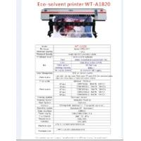 Buy cheap special 1.8m eco solvent printer from wholesalers