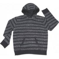 Quality Round neck pullover with hat Jacquard and Knitted sweater for sale