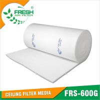 Wholesale EU5 high dust holding capacity medium efficiency spray booth air filter media from china suppliers