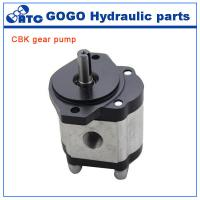 Wholesale Rotary CE CBK hydraulic gear pump , jcb tractor hydraulic fuel pump from china suppliers