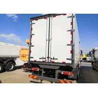 Wholesale Refrigerated 10 Wheels Euro Truck 2 Heavy Cargo For Meat And Foods Transport from china suppliers