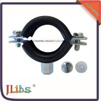 Wholesale M8 M10 Heavy Duty Wall Mount Vertical Steel Pipe Clamps Lifting Clamp With EPDM Rubber from china suppliers