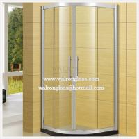 Wholesale 8mm Tempered Glass Simple Shower Door Shower Door Hinge Stainless Steel Shower Cabin from china suppliers