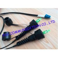Wholesale SC Fiber Optic Patch Cord , 5m Outdoor Armored Fiber Optic Cable With Odva Connectors from china suppliers