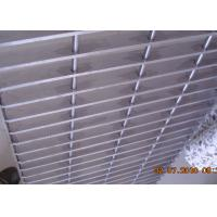 Wholesale Plain Bar Stainless Bar Grating , Anti Corrosive Floor Grates Stainless Steel from china suppliers
