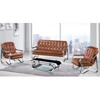 Quality office furniture factory Leisure European Style Stainless Steel office sofa for sale
