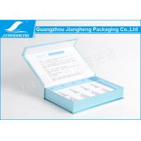 Wholesale Book Shaped Silver Card Paper Essential Oil Cosmetics Packaging Boxes With Printing from china suppliers