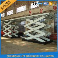 Wholesale Double Heavy Duty Stationary Hydraulic Scissor Lift for Cargo Moving from china suppliers