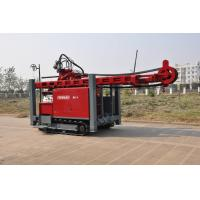Wholesale Self propelled on track water Well Drilling Rig 97KW / 420 mm Drilling Hole with hydraulic system from china suppliers