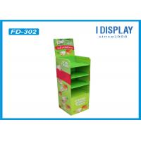 Wholesale Supermarket Corrugated Cardboard Pallet Display Green Color For Chewing Gum from china suppliers