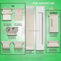Wholesale High quality PU Plane Roman Pillar for interior and exterior decoration from china suppliers